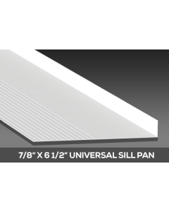 "Vinyl sill Pan 7/8"" by 61/2"""